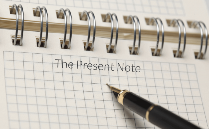 Present Note