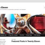 WordPressテーマTwenty Elevenのヘッダーレイアウトの変更方法